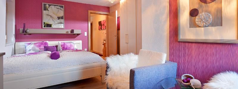Exenberger Partnerwohnung Schlafzimmer