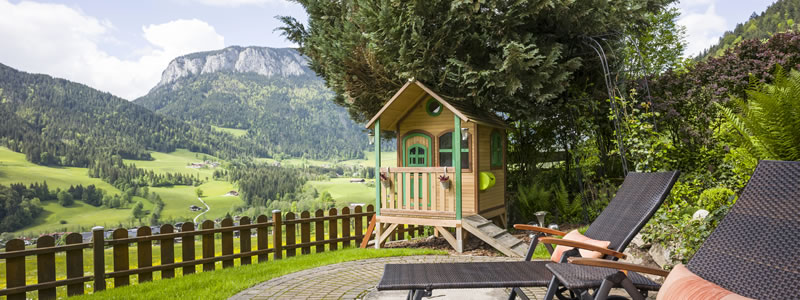 Exenberger Haus Spielhaus Aussicht